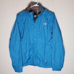 The North Face Blue HyVent Windbreaker Jacket